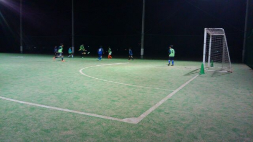 水戸市サッカースクール開催中