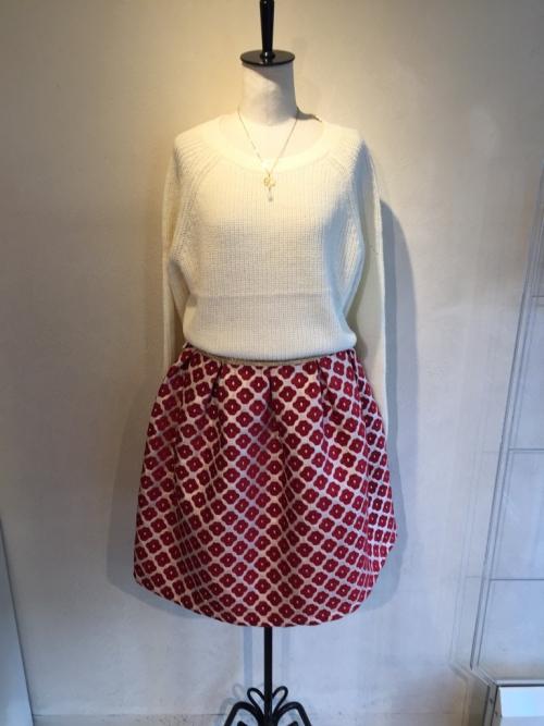 可愛いボリュームスカート