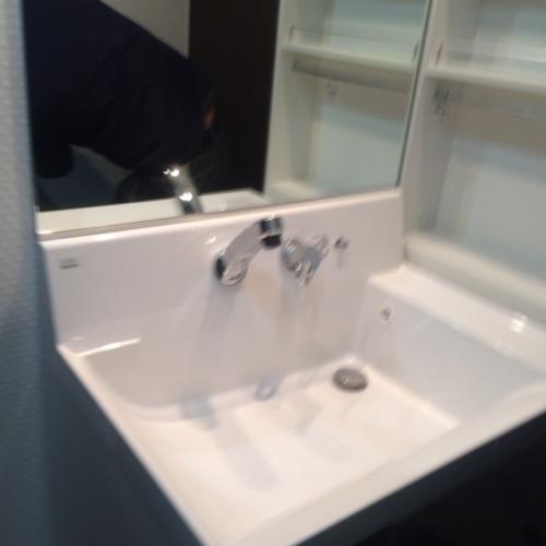 洗面化粧台の入れ替えリフォーム名古屋