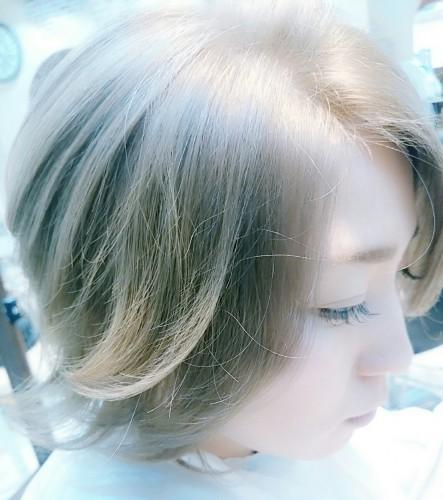 透明感 武蔵新城 溝の口 美容室momoブログ