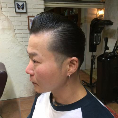 新潟 古町 barber 刈上げ ロカビリー