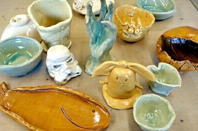 陶芸芸人カンカンさんのファンの皆様の作品がついに焼き上がり。