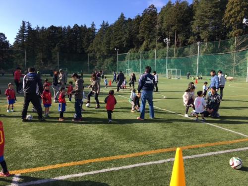 水戸市サッカーチームイベント親子サッカー