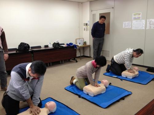 熊谷市鍼灸師会で救命講習会を開催しました