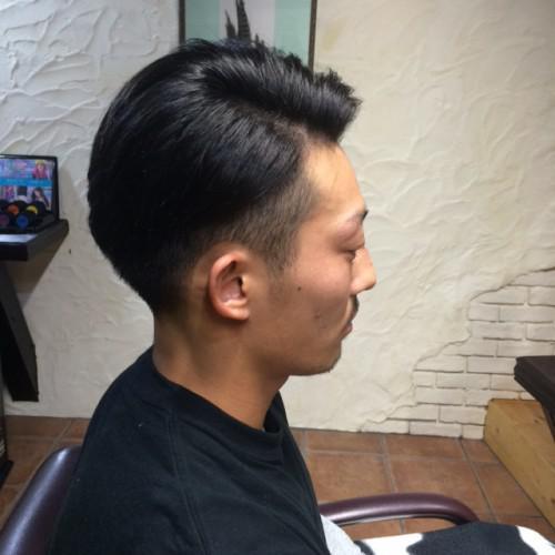 新潟 古町 Barber 刈上げ