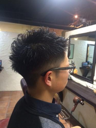 新潟 古町 Barber パーマ 刈上げ