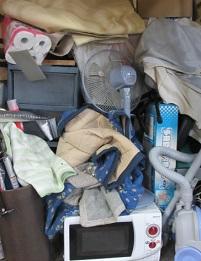 引越しごみ、熊谷市便利屋 不用品回収、お片付けです。