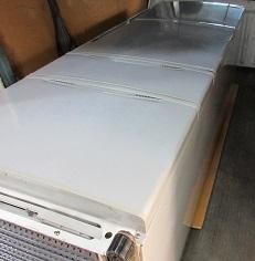 熊谷市便利屋不用家電冷蔵庫回収作業です。