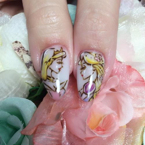 オーロラ姫♡ラプンツェル