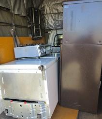 深谷市便利屋、冷蔵庫、大型家電不用品回収です。