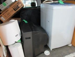 熊谷市便利屋、洗濯機 テレビ 家電 家具 格安回収。