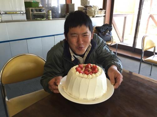 お誕生日〜♪