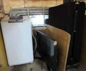 テレビ、ベッド、机、洗濯機の不用品回収、家具、家電廃棄。