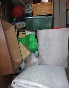 熊谷市の便利屋、大量ごみ、お片付け、不用品回収です。
