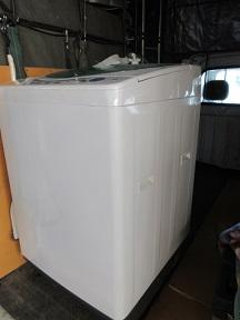 伊勢崎市の家電製品、洗濯機の処分、不用品回収です。