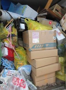 格安処分、群馬県太田市便利屋、引越しごみ家具家電片付け。