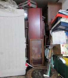 熊谷市のお片付け、便利屋不用品回収作業です。