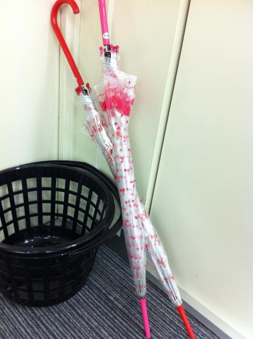 【バレエ】お揃いの傘