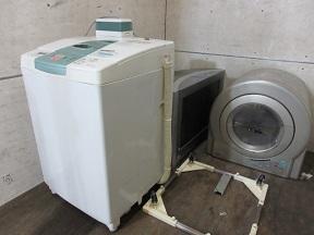 深谷市花園方面、川本地域、洗濯機テレビ家電品回収です。