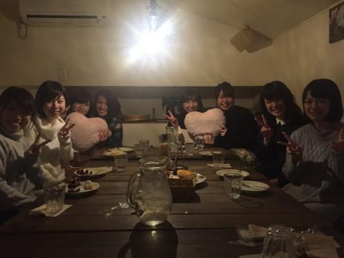 サプライズなお誕生日パーティー。