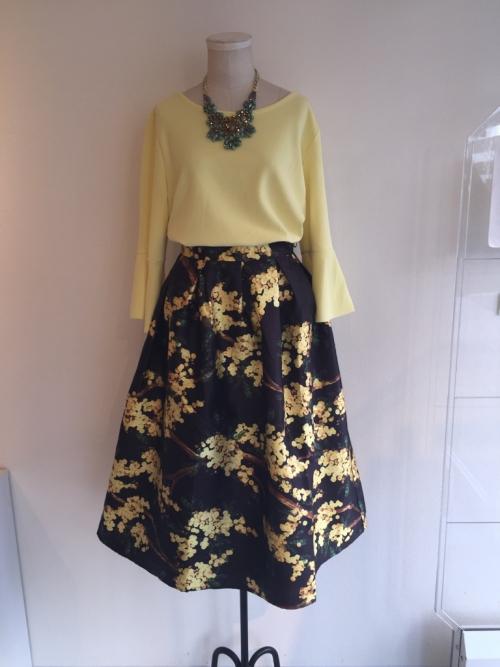 ボリュームスカートが人気