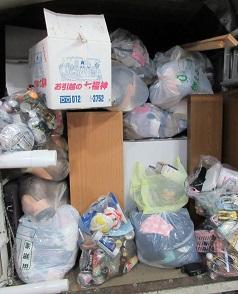 雑多なご不要品、お片付け、不用品回収、本庄市便利屋。