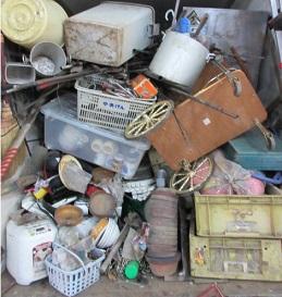 便利屋さん、伊勢崎の格安ごみ不用品回収、お片付け作業。