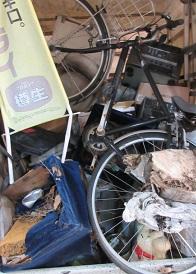 東松山市の店舗様、不燃ごみ、家電、不用品回収です。