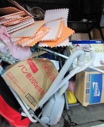 引越しゴミお片付け、深谷市の安い便利屋不用品回収。