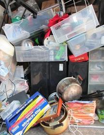 大量の不用品回収、お片付け、東松山市、鴻巣市、便利屋。