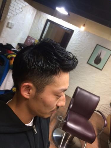 新潟 古町 barber 刈上げ パーマ