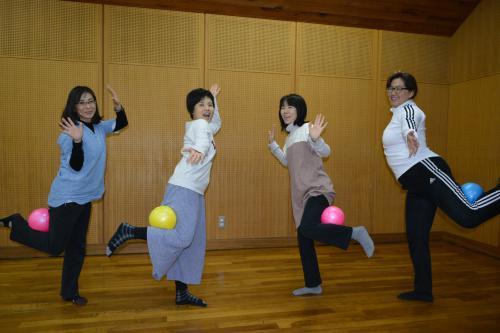 骨盤屋の「クビレる体操教室」3月2日開催