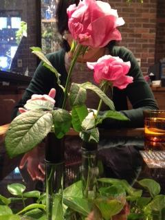 花屋さんに併設されたオシャレなカフェ