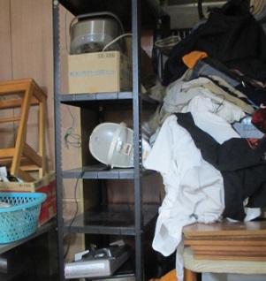 熊谷市の便利屋、不用品お片付け、引越しごみ処分作業です。
