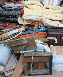 一軒家、大量ごみ、片付け、寄居町便利屋、不用品回収。