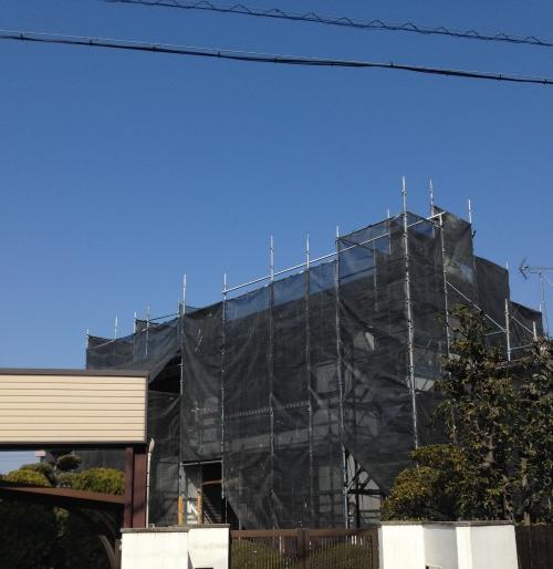 岡崎市 O様邸 外装工事①