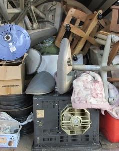 熊谷市の一軒家にて大量ゴミ、まるごとお片付け。