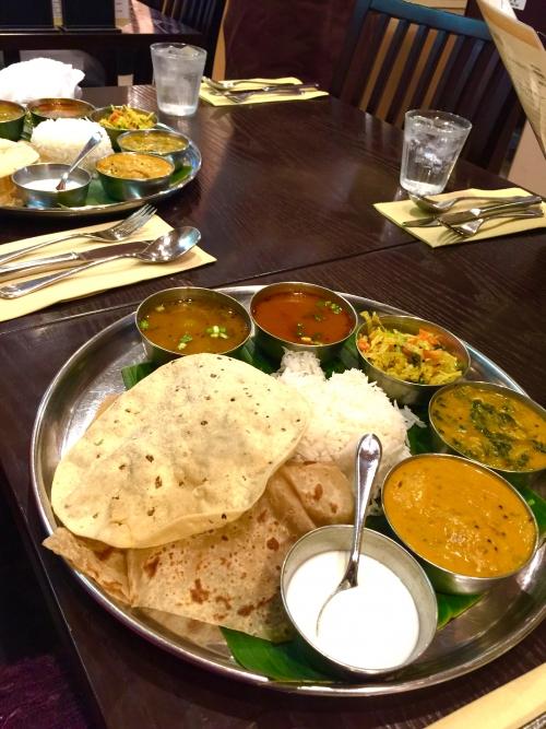 昨夜は銀座の南インド料理☆アーンドラ