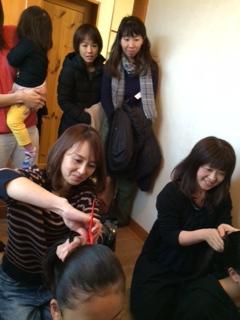 シニヨン講習会!
