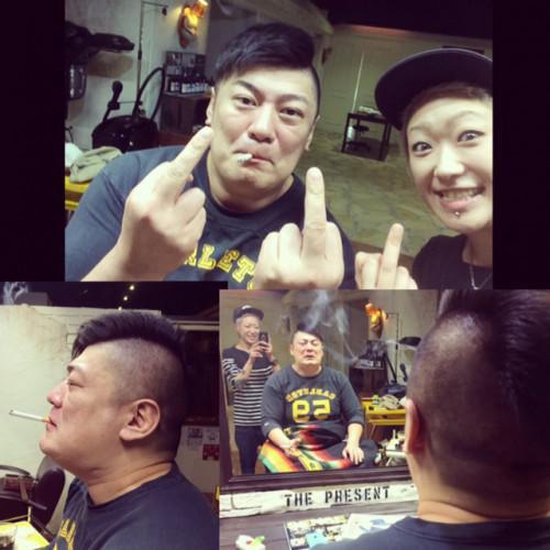 barber 刈上げ tattoo 新潟 古町