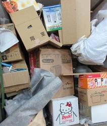 群馬太田市、市営住宅4階のお部屋から大量ゴミです。