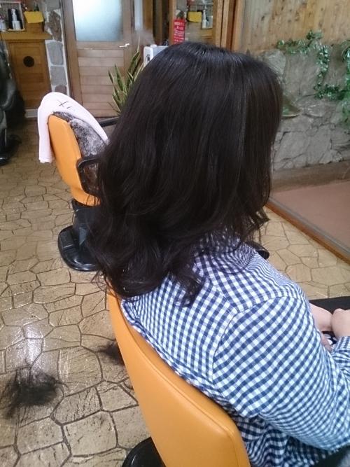 クセ毛のアレンジ。入学式にいつもより╋豪華に!