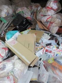 ゴミ屋敷、深谷市のお部屋お片付け、便利屋大量ごみ処分。