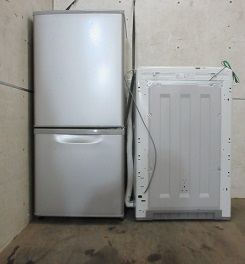 深谷市の家電処分、冷蔵庫と洗濯機の回収です。