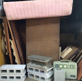 大型家具、タンス、粗大ごみ、熊谷市の便利屋不用品回収です。