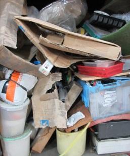 産廃、ご家庭内の不用品処理、深谷市お片付け作業。