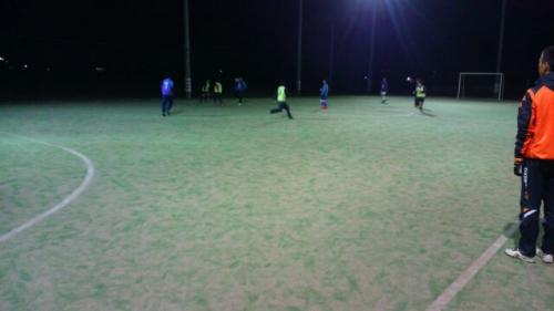 酒門サッカースクール ゲーム大会開催中