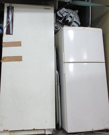 熊谷市の冷蔵庫、洗濯機、処分、廃棄、不用品回収です。