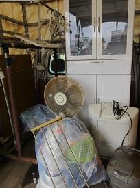 本庄市の社員寮、お引越しの家具、家電品、不用品回収です。
