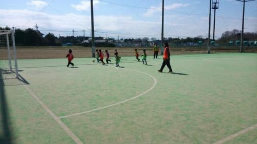 水戸市サッカーチーム活動 体験会開催中